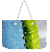 Green Caterpillar  Weekender Tote Bag
