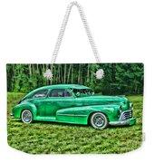 Green Classic Hdr Weekender Tote Bag