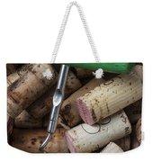 Green Corkscrew Weekender Tote Bag by Garry Gay