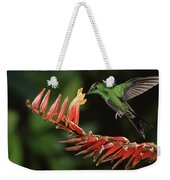 Green-crowned Brilliant Heliodoxa Weekender Tote Bag