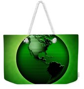 Green Earth Weekender Tote Bag