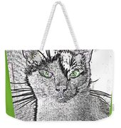 Green Eyed Monster Weekender Tote Bag