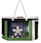 Green Facade With Buttons. Belgrade. Serbia Weekender Tote Bag