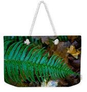 Green Fern Weekender Tote Bag