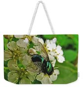 Green Fly Weekender Tote Bag