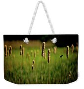 Green Grow The Rushes O Weekender Tote Bag