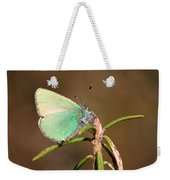 Green Hairstreak Weekender Tote Bag