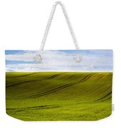 Green Hill Weekender Tote Bag