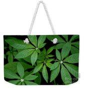 Green Is Beautiful Weekender Tote Bag