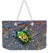 Green Junebug Weekender Tote Bag