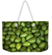 Green Olives Weekender Tote Bag by Joana Kruse