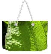 Green On Green Weekender Tote Bag