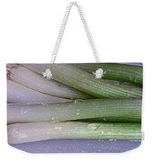 Green Onions Weekender Tote Bag