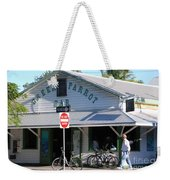 Green Parrot Bar In Key West Weekender Tote Bag