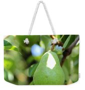 Green Pear Weekender Tote Bag