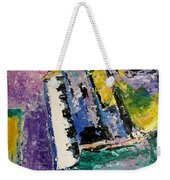 Green Piano Side View Weekender Tote Bag