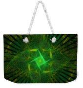 Green Weekender Tote Bag