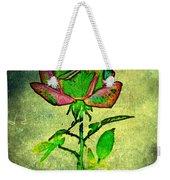 Green Rose Weekender Tote Bag