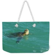 Green Sea Turtle 4 Weekender Tote Bag