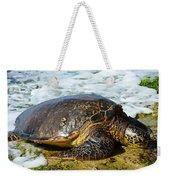 Green Sea Turtle Of Hawaii Weekender Tote Bag