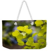Leaves Illumination Weekender Tote Bag