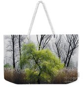 Green Tree And Pampas Grass Weekender Tote Bag