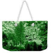 Green Zone Weekender Tote Bag by Will Borden