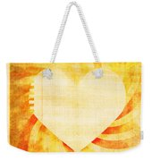 greeting card Valentine day Weekender Tote Bag by Setsiri Silapasuwanchai