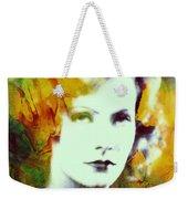 Greta Garbo Abstract Pop Art Weekender Tote Bag