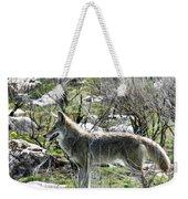 grey Fox 2 Weekender Tote Bag