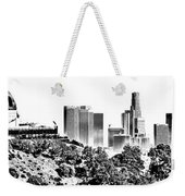 Griffith And Los Angeles Etched Weekender Tote Bag