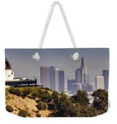 Griffith And Los Angeles Weekender Tote Bag