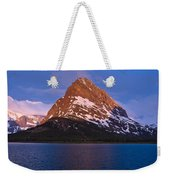 Grinnel Point At First Light Weekender Tote Bag