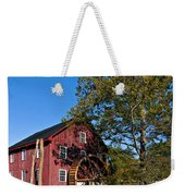 Grist Mill Painted Weekender Tote Bag