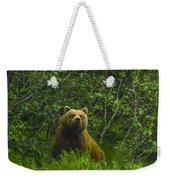 Grizzly Bear Alaska Weekender Tote Bag