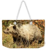 Grizzly Camouflage Weekender Tote Bag