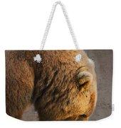 Grizzly Hanging Head Weekender Tote Bag
