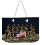 Group Photo Of U.s. Marines Weekender Tote Bag