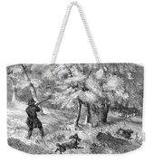 Grouse Hunting, 1855 Weekender Tote Bag