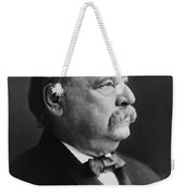 Grover Cleveland - President Of The United States Weekender Tote Bag by International  Images