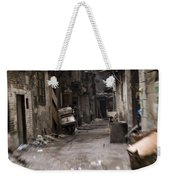 Grubby, Urban Alleyway In Chongqing Weekender Tote Bag