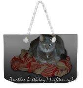 Grumpy Cat Birthday Card Weekender Tote Bag