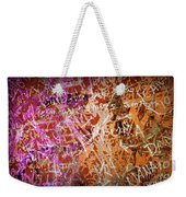 Grunge Background 3 Weekender Tote Bag