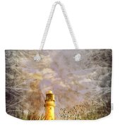 Grunge Light House Weekender Tote Bag