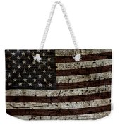 Grungy Wooden Textured Usa Flag2 Weekender Tote Bag