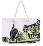 Guard Pigeon And Liberty Theater Weekender Tote Bag