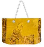 Guardian Angel Byzantine Art Weekender Tote Bag