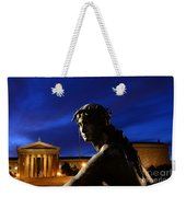 Guardian Angel Of Art Weekender Tote Bag by Paul Ward
