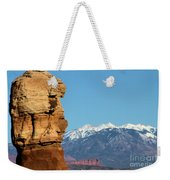 Guardian Of Arches Weekender Tote Bag
