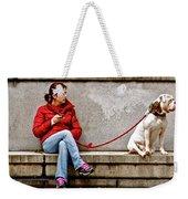 Guarding Laura Weekender Tote Bag